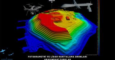 Fotogrametri ve Lidar  Haritalama Dronları Arasındaki Farklar