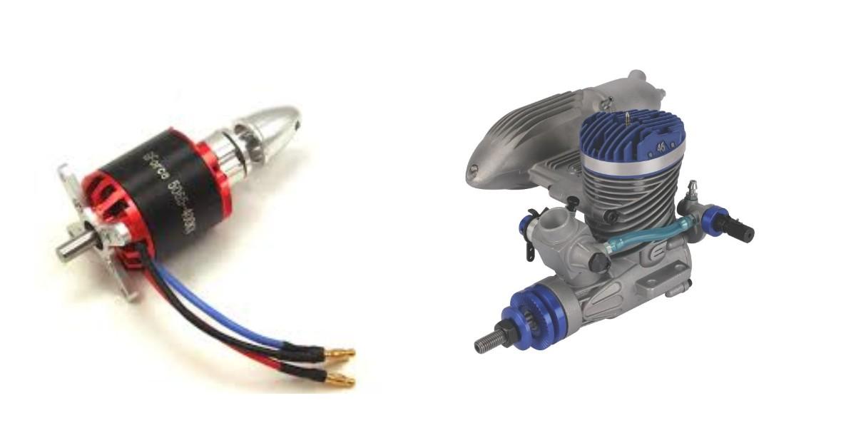 İçten Yanmalı(IC) ve Elektirikli Motorlu Model Uçaklar Arasındaki Farklar