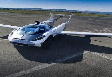 Üç Dakikada Arabadan Uçağa Dönüşebilen Transformer AirCar