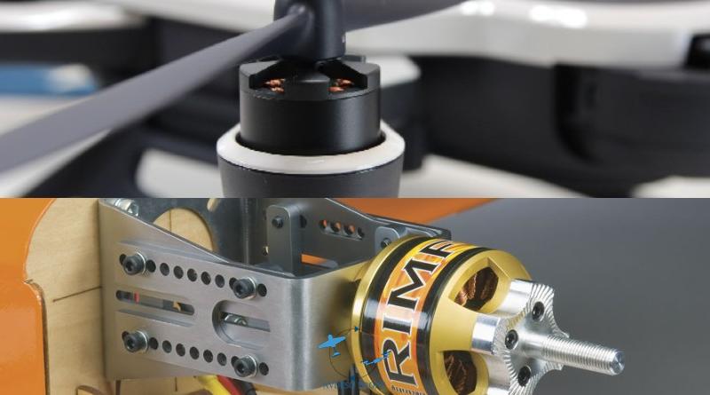 Dronlarda ve Uçaklarda Kullanılan RC Fırçasız Motor
