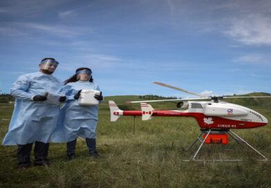 Kanada'da Covid-19 Testleri ve Tıbbi Ekipmanlar İHA ile Gönderiliyor