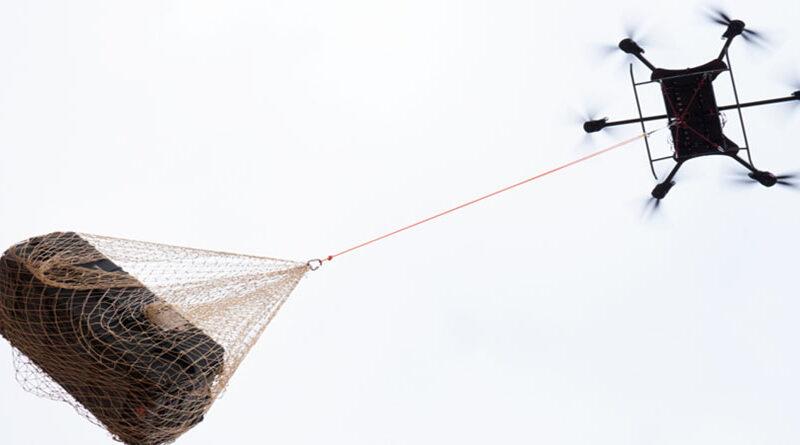 XFold Drone,Değişebilen Kolları Sayesinde1,000 Pound Ağırlık Kaldırabiliyor